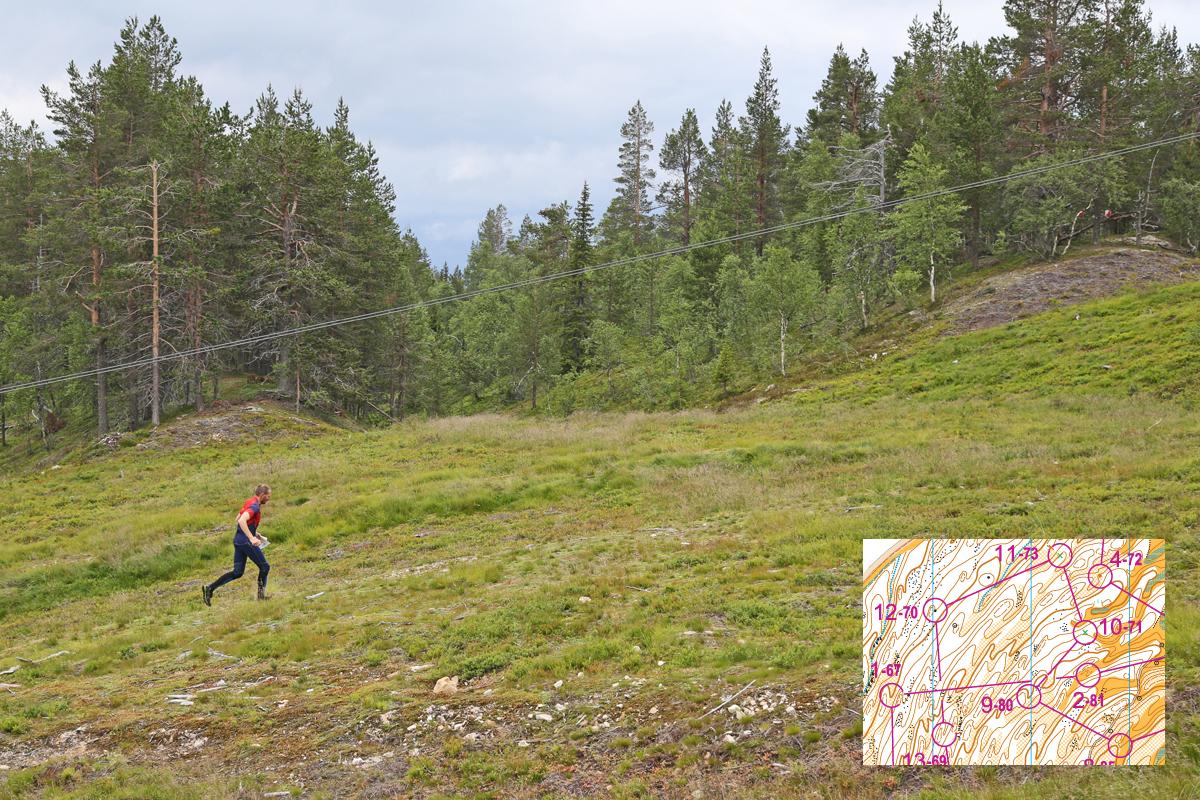 Uusi kartta on alueelta, jossa on lieveuomia vierivieressä, joten käyriä riittää luettavaksi.